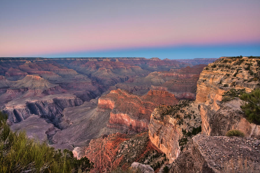 Grand Canyon Sunset by RaymondW
