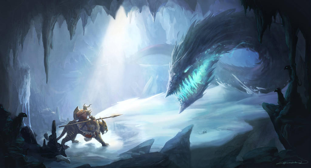 Christian Boe - Ice Wyrm 2 by ChristianBoe