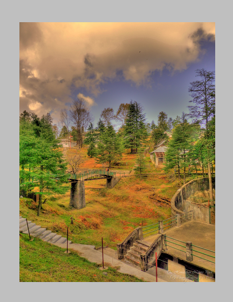 The Himalayan nature park HDR by Swaroop