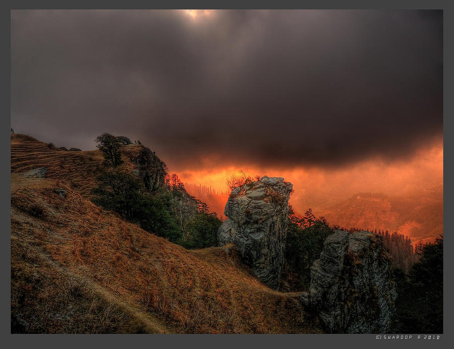 Hatu peak by Swaroop