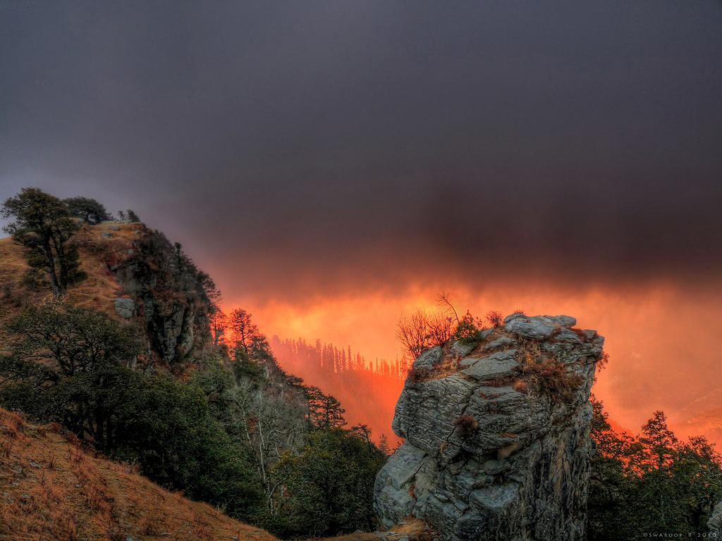 ssHDR Hatu peak by Swaroop