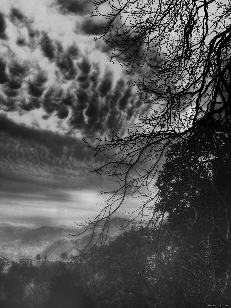Menace in the sky by Swaroop