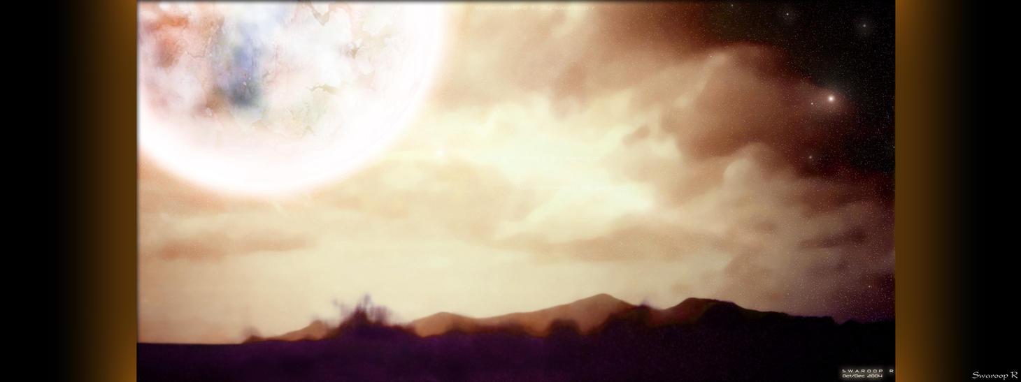 Dual___Evening Of Fiery Bliss by Swaroop