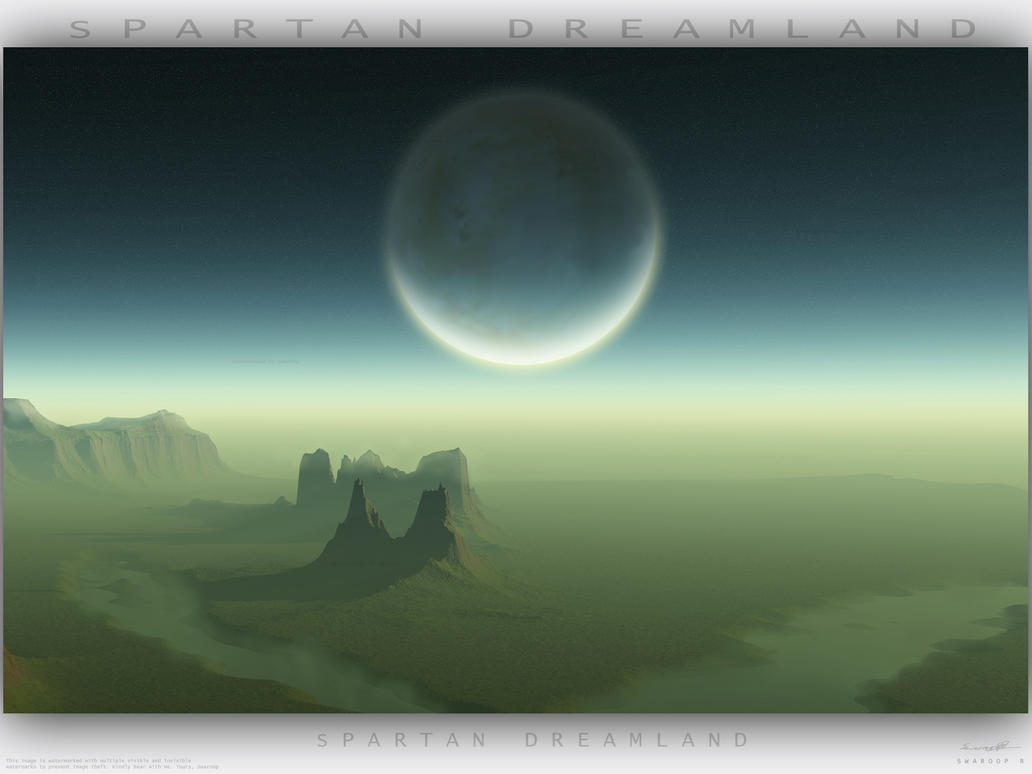 Spartan Dreamland WAllpaper by Swaroop