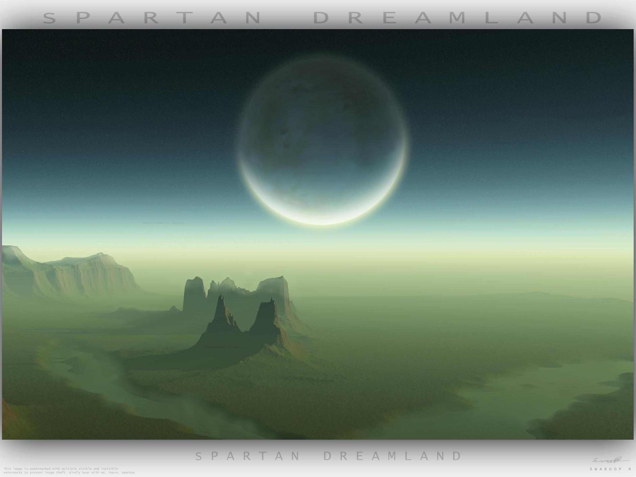 Spartan Dreamland WAllpaper by Swaroop