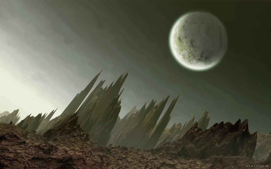 OverHang Desolate-Widescreen by Swaroop
