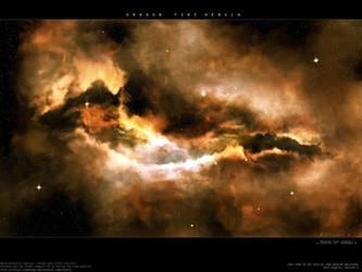 Dragon Fire Nebula by Swaroop