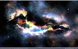 The coloured Dragon nebula by Swaroop