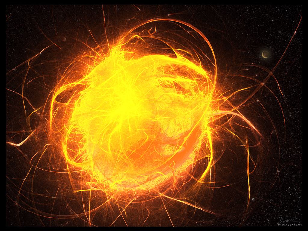 Plasma flares, and streaks by Swaroop