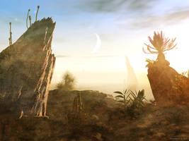 Alien sunshine cove by Swaroop