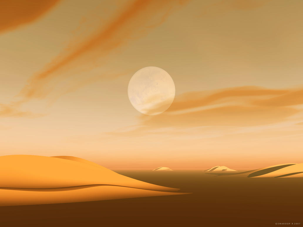 The Martian Deserts by Swaroop