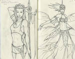 Sketching From Michael Turner