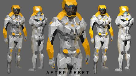 After Reset: NBC Suit 'Labrat' concept by blackcloudstudios