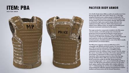 PACIFIER BODY ARMOR (PBA) by blackcloudstudios