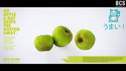 Into Corp, apples (c) Inochi Vegetables (ad.) by blackcloudstudios