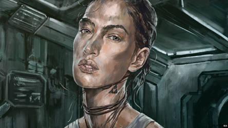Daedalus: Jill Scott [full HD] by blackcloudstudios