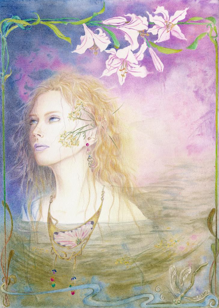 Ophelia by Myuria