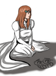 Lonely Orihime by spookylolly