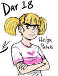 February of Art Day 18: Helga Pataki