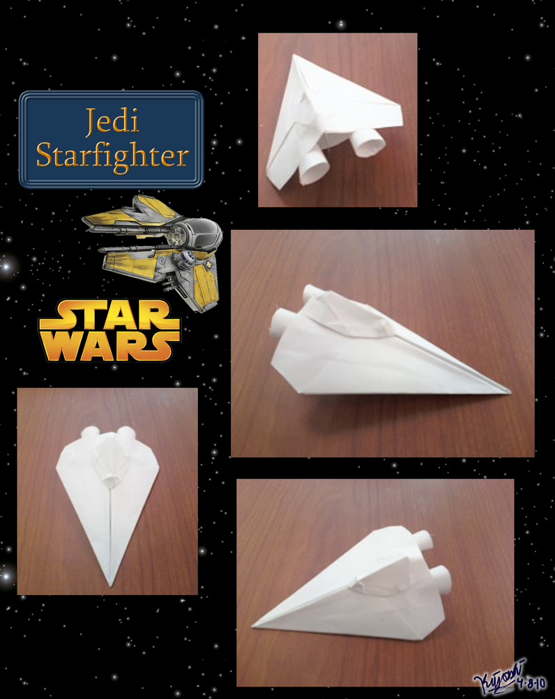 Origami General Grievous Starfighter