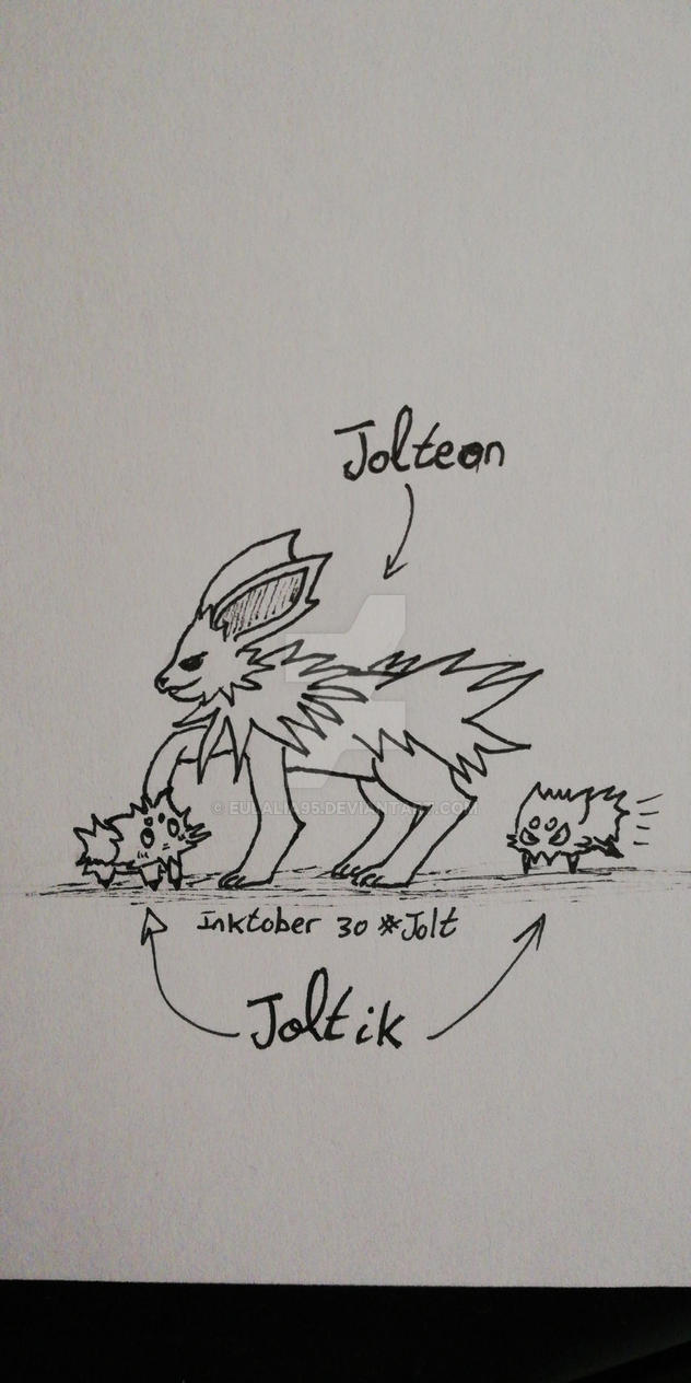 Inktober 30 (#Jolt) by eulalia95
