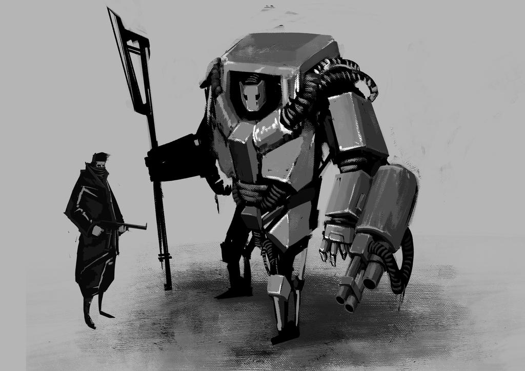 Mech Design by MathiasTemplar