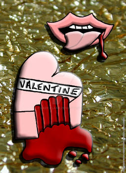 Bleeding Heart Anti-Valentine