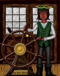 Sea Witch Ch02 Illustration - Captain Tomas