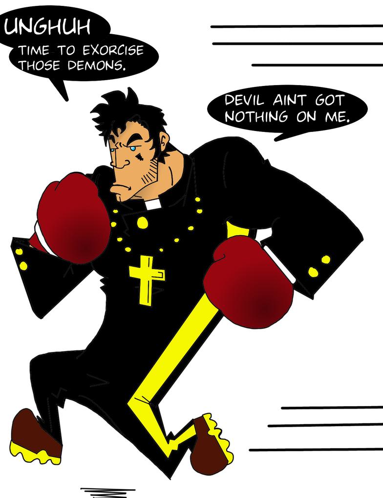 Meet The BoxerPriest by Baddash