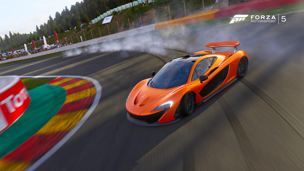 deviantART: More Like Forza Motorsport 5 | McLaren P1 Drift by TC97