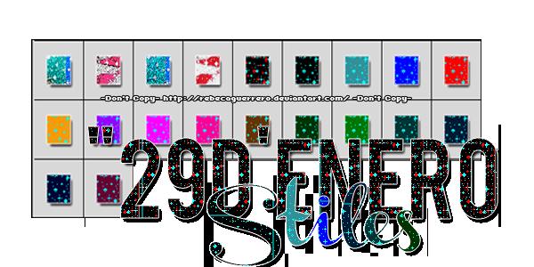 29D'Enero -Styles- by RebecaGuerrero