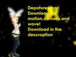 Download depatures motion data