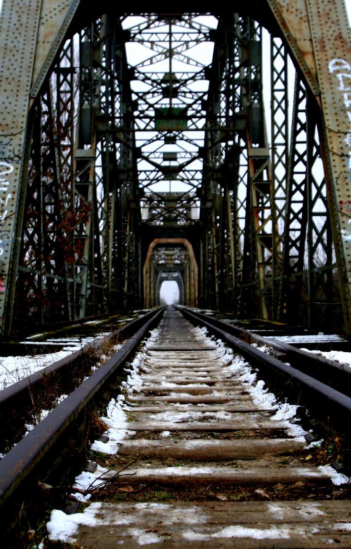 Abandoned old railway bridge 2 [2] by Wrona-Czarna