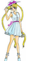 Casual Usagi from a Sailor Moon Doujinshi by Giulio23