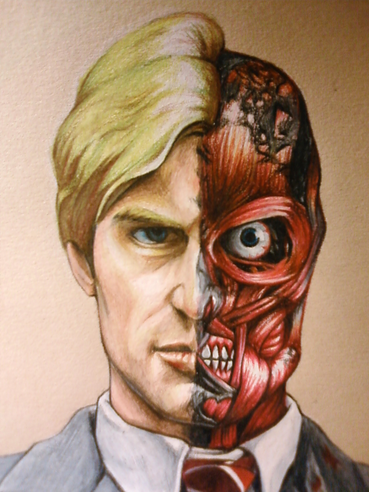 Two-face For BIO By Egonschiele90 On DeviantArt