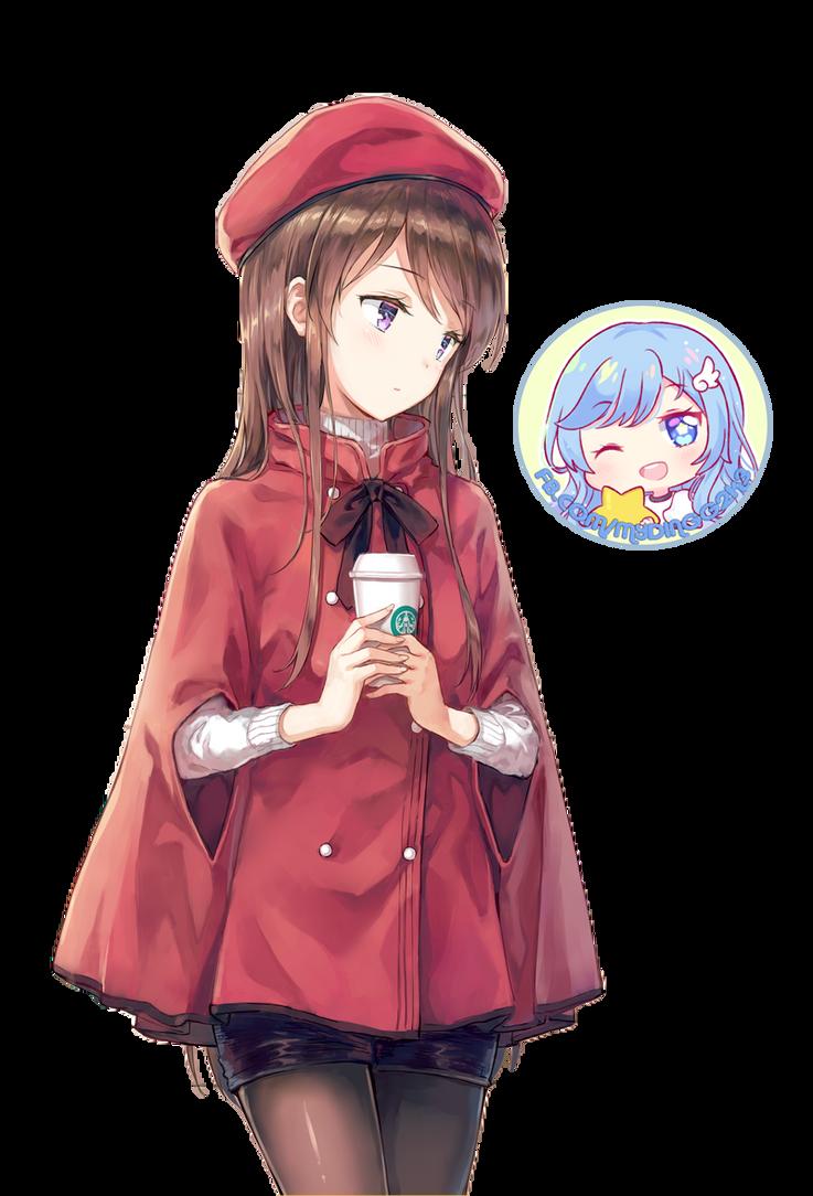 Shibuki Ran render by Myding2k3