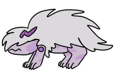 Corrupted Amethyst (GIFT Adopt) by AngelLeviGemAdopts