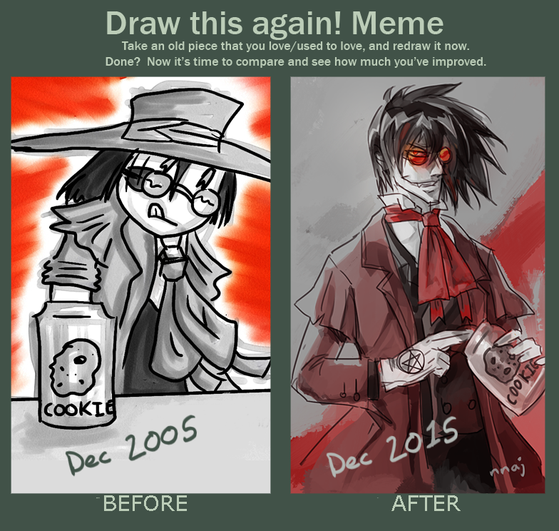Art Improvement 2005-2015 by nnaj