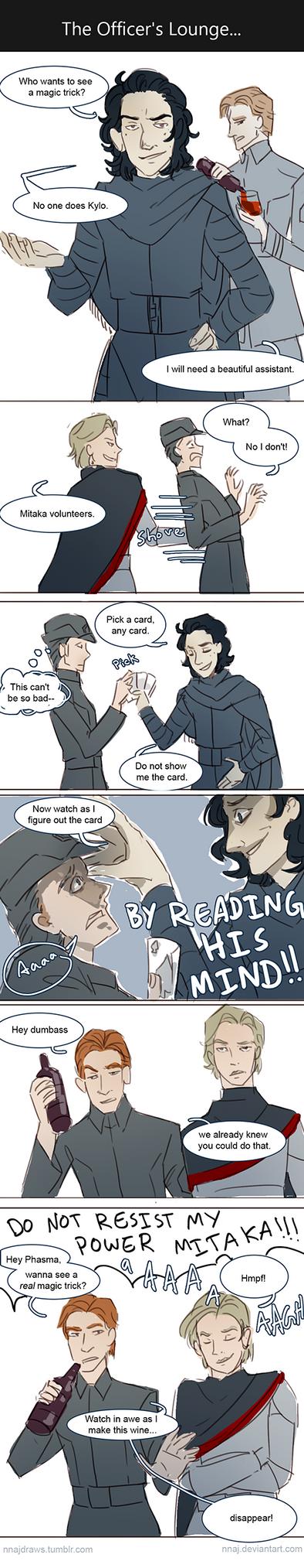 Kylo's magic trick by nnaj