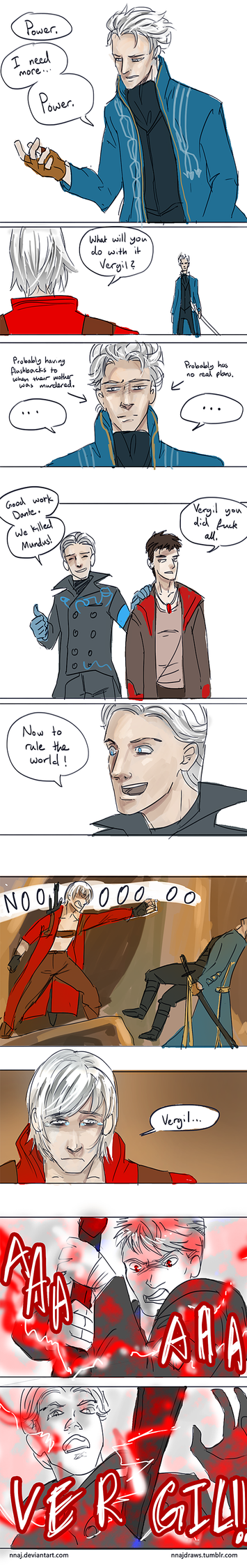 The difference between DMC and DmC by nnaj