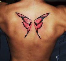 butterfly wings by eminimal