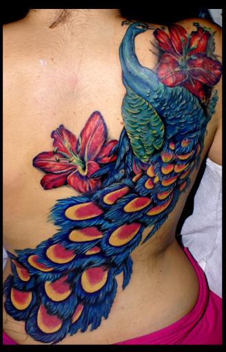 peacock by eminimal