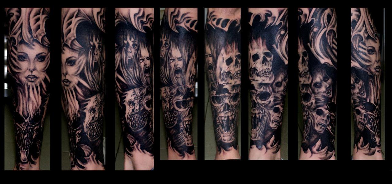 skulls..faces. by eminimal