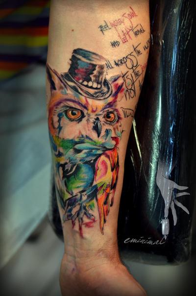 owl by eminimal
