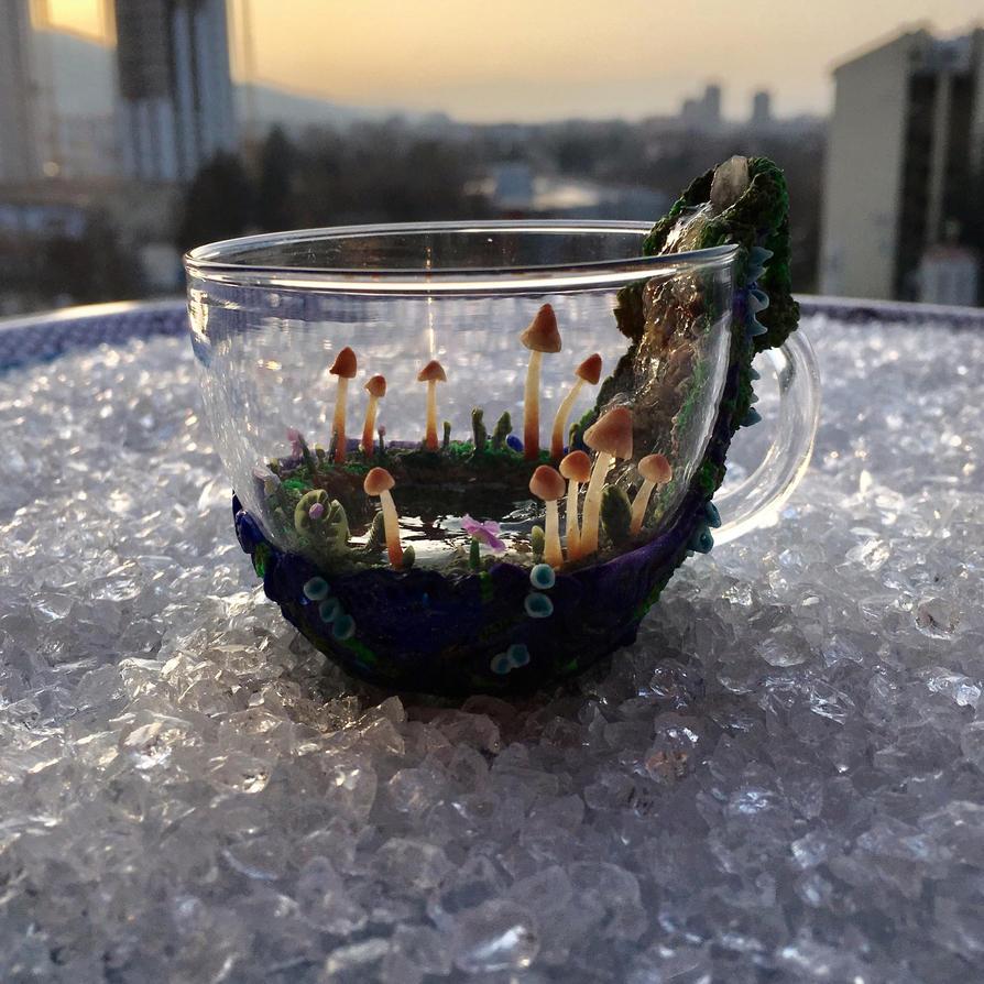 Crystal springs coffee cup by eminimal