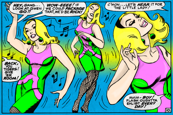 John Romita Gwen Stacy Dance by InaudibleWhisper
