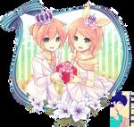 Len x Rin (Vocaloid) PNG [render]