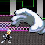 Danny Phantom vs Master Hand by mariomaster88