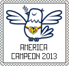 America campeon Stamp by AJcosmo