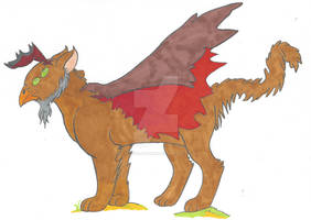 Monster Gryphon Color